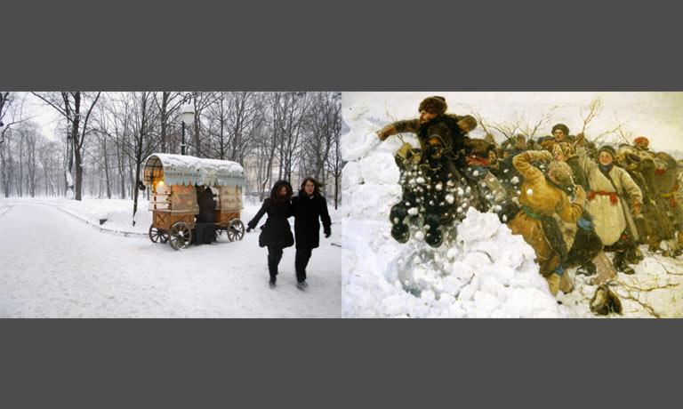Projet sur l'identité russe par Anne-marie Louvet photographe