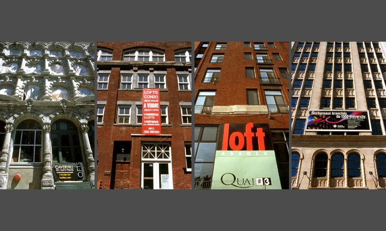 Lofts à Montréal. Exposition Histoires de lofts à Montréal par Anne-Marie Louvet photographe