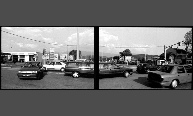 Création photographique sur l'espace urbain par Anne-Marie Louvet photographe