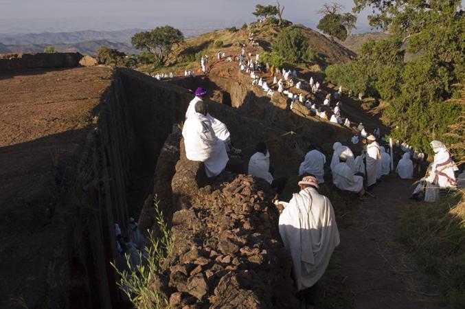 Lalibela en Ethiopie par Anne-Marie Louvet photographe