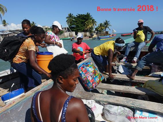 Photographie prise en Haïti en décembre 2017 par Anne-Marie Louvet