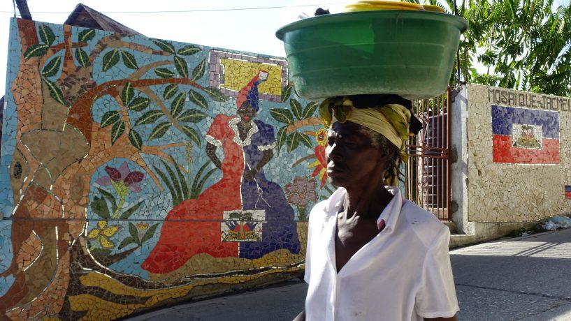 Photographie prise à Jacmel en Haïti par Anne-Marie Louvet photographe