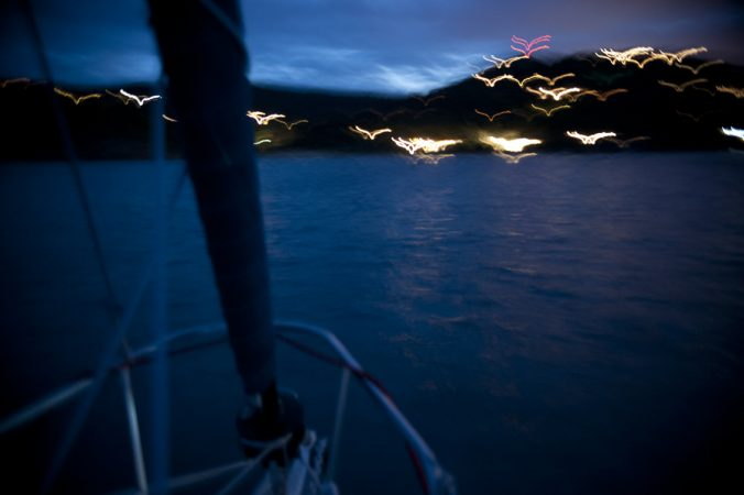Navigation nocturne par Anne-Marie Louvet photographe