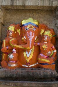 Ganesh à Chittorgarh en Inde par Anne-Marie Louvet photographe