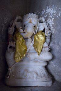 Ganesh à Nawalgarh en Inde par Anne-Marie Louvet photographe