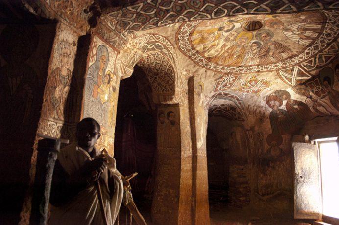 Abuna Yemata, église perchée du Tigré en Ethiopie par Anne-Marie Louvet photographe