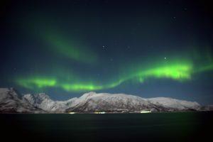 Aurores boréales en Norvège par Anne-Marie Louvet phtographe