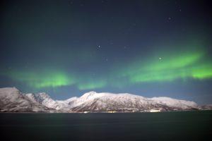 Aurores boréales en Norvège par Anne-Marie Louvet photographe