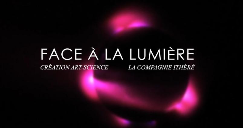 """Video """"Face à la lumière"""" par Anne-Marie Louvet"""